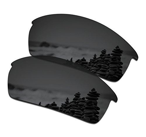 SmartVLT Men's Stealth Black Replacement Lenses for Oakley Bottlecap - Lenses Cap Bottle Oakley