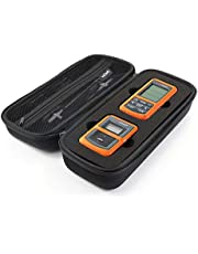 ProCase Hard EVA Case for ThermoPro TP20 / TP-08S / TP07 Wireless Remote Digital Kitchen Cooking Food Meat Thermometer with Mesh Pocket (Thermometer and Accessories NOT Included) -Black
