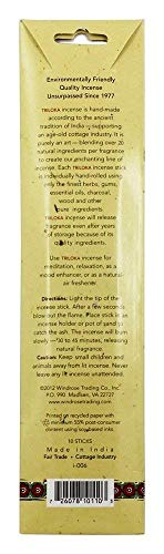 Triloka - Original Herbal Incense Frankincense & Myrrh - 10 Stick(s)