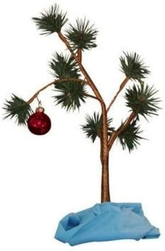 Official 24-inch Peanuts Charlie Brown Christmas Tree with Linus Blanket