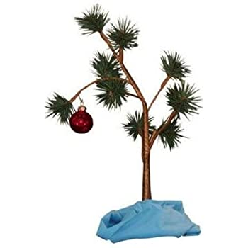 Amazon Com ProductWorks 24 Inch Peanuts Charlie Brown Musical  - Plant Christmas Trees
