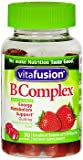 Vitafusion B Complex Adult Vitamin Gummies Natural Strawberry Flavor – 70 ct, Pack of 3