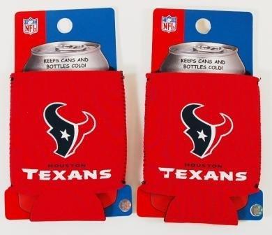 セットの2 Houston Texans NFL Can Kaddy Koozies B002ZKKXFU