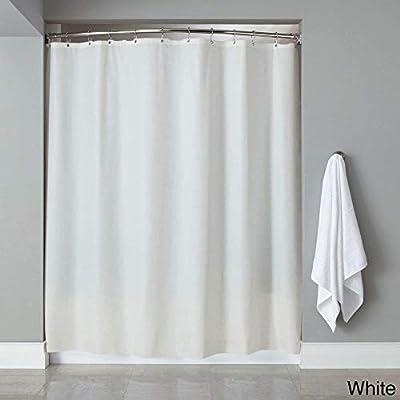 Amazon Bed Bath N More Vinyl Shower Curtain Liner White Home Kitchen