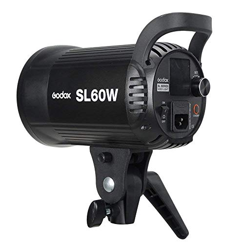 Godox SL-60W 60W CRI95+ White Version LED Video Light,5600±300K Continuous Output Lighting with Bowens Mount &Wireless Remote for Video Recording,Children Photography,Wedding,Outdoor Shooting (110V) by Godox (Image #6)