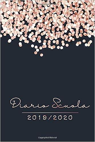 Diario Scuola 2019 - 2020: Agenda dello studente - Anno ...