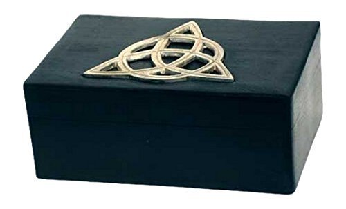 New Age Smudges & Herbs Triquetra Wooden Box, 4