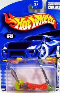 Mattel Hot Wheels 2001 First Editions Mo' Scoot No. 33/36 (Hot Scooter Wheels)