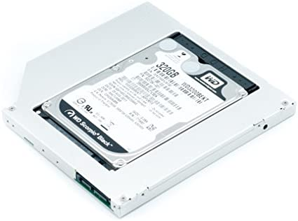 QUMOX Adaptador de 2do HDD SSD SATA para Disco Duro de Laptops ...