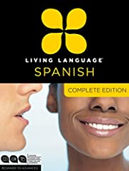 Complete Spanish is a unique multimedia program that takes you beginner to advanced level in one convenient package.   At the core of Complete Spanish is the Living Language Method™, based on linguistic science, proven techniques, and over 6...