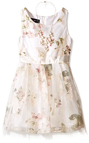Amy Byer Girls Sleeveless Floral