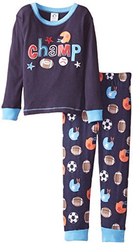 Gerber Little Boys Toddler 2 Piece Cotton Pajama  Sports  4T