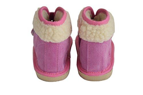 Natleat Slippers , Jungen Hausschuhe, rosa - rose - Größe: 30 EU Kinder