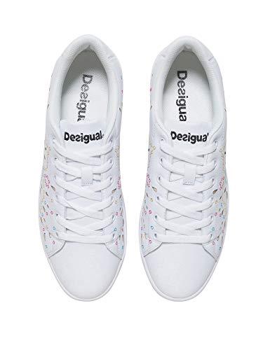 Sneakers 1000 Desigual Basses donna tennis da Shoes blanco Blanc Ewvw8qxZ4