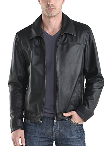 Giacca Leather Junction Black Giacca Leather Uomo Junction Uq4wFxzqa