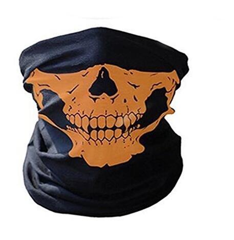 Waymeduo New Skeleton Skull Bandana Snowboard Skiing Motorcycle Biking Rave  Mask Paintball 208037dc0e7e