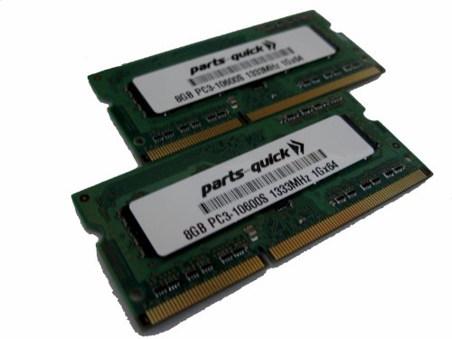 Certified for Apple 16GB KIT 2 X 8GB DDR3 Memory for Appl...