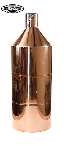 North Georgia Still Company 40 Gallon Copper Moonshine Still with 1/2 OD Copper Tubing & Ball Valve Drain Port by North Georgia Still Company price tips cheap
