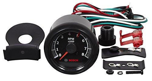 bosch sp0f000025 sport ii 2 8 u0026quot  tachometer  black dial