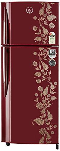 Godrej 255 L 2 Star   2019   Frost Free Double Door Refrigerator RF GF 2552PTH Scr Drmn, Scarlet Dremin