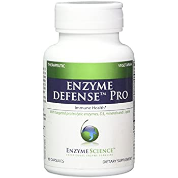 Amazon Com Enzyme Science Enzyme Defense Pro Support