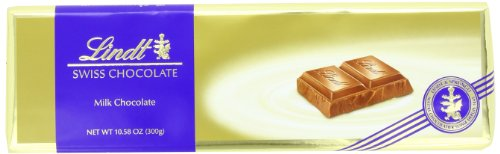 Lindt Swiss Premium Milk Chocolate, 10.58-Ounce Packages (Pack of 4)