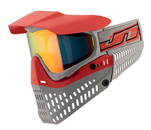 JT Spectra Proflex LE Thermal Goggle (Red/Gray w/Prizm 2.0 Lava Thermal Lens) (Jt Proflex Thermal Paintball Goggles)