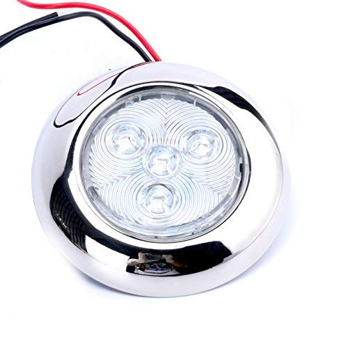 Round Led Lights Marine in US - 1