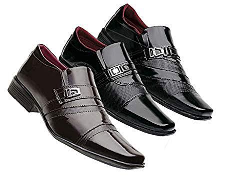 Kit Pares Sapato Social masculino
