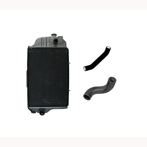 Radiator with Hose Set for John Deere (Diesel Engine) 1520 2020 2030 2440 ()
