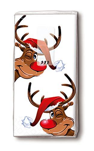5pacchetti di fazzoletti con stampa natalizia; diversi motivi a scelta Paper + Design