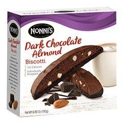 Dark Chocolate Almond - Chocolate Biscotti