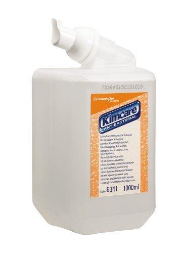 KLEENEX 6348 Antibacterial Foam Soap, 1 L, White by Kleenex