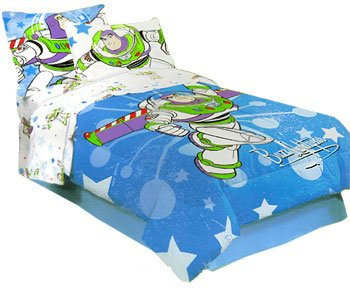 Amazon Com Toy Story Buzz Lightyear Comforter Bed Set Twin