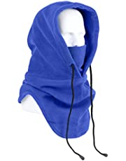 Oldelf Tactical Heavyweight Balaclava Outdoor Sports Mask for Outdoor Hiking Camping Hiking Skiing Cycling and Other Sports (Blue)