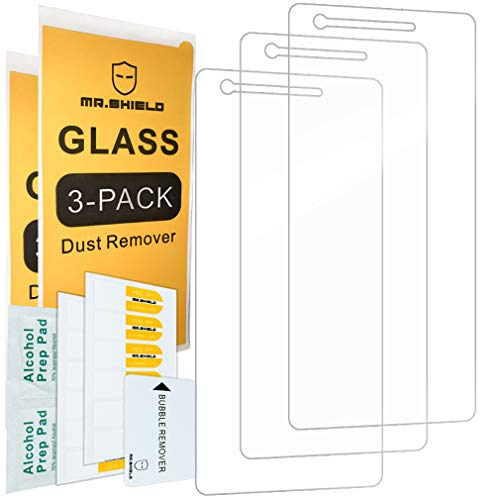 [3-Pack]-Mr.Shield for Nokia 2V / 2 V / 2.1 [Tempered Glass] Screen Protector with Lifetime Replacement (Best Cheap Nokia Phone)