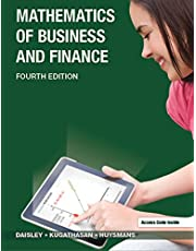 Mathematics of Business and Finance Fourth Edition
