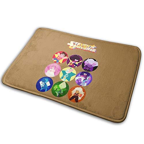 Kurabam Doormat Ladies Steven Universe Funny Inside Welcome Home Decor Doormats Absorbant Mats Rug Carpet]()