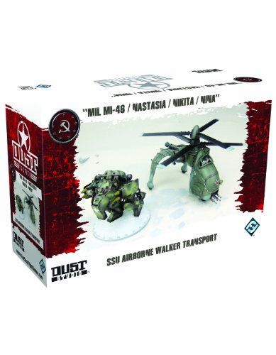 Fantasy Flight Dust Tactics: SSU Airborne Walker Transport