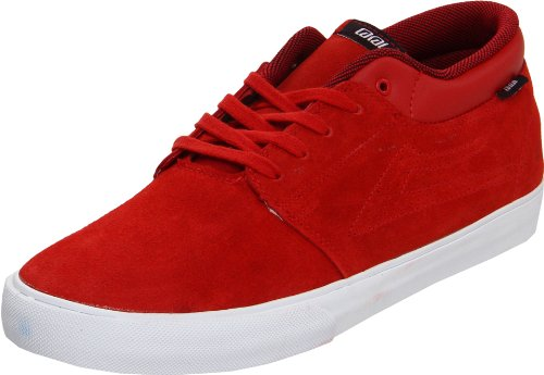 Lakai MARC MS3120029A00 Herren Fashion Sneakers Rot (RED SUEDE A0600)