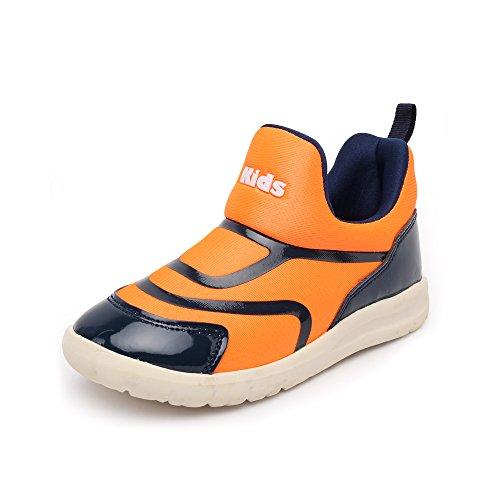 VILOCY Babyschuhe Mädchen Jungen Lauflernschuhe Sneaker Trainer Schuhe Orange EU24