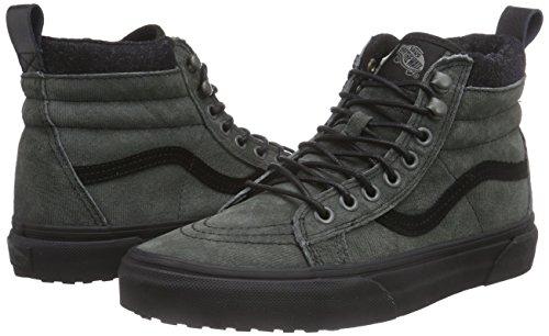 98d01d5f4d Vans Mens Sk8-Hi MTE Denim Suede Black Sneaker - 7.5  Amazon.ca  Shoes    Handbags