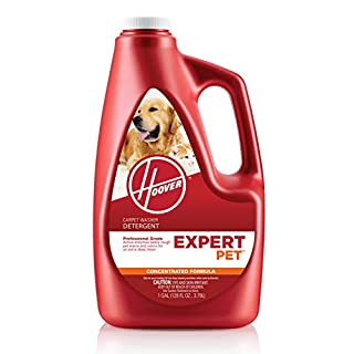 Hoover Expert Pet Carpet Cleaner Solution Formula, 128 oz, AH15075, Red