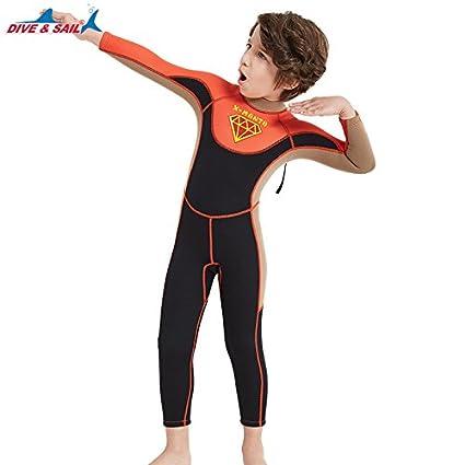 Dive&Sail Traje de baño de 2.5 mm para niñas X-Manta de ...