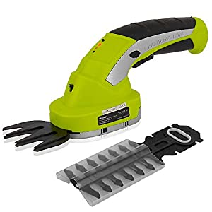 Serene Life SereneLife PSLTLL1812 Cordless Handheld Shears-Electrical Hand Held Hedge Trimmer Weed Or Grass Clippers…