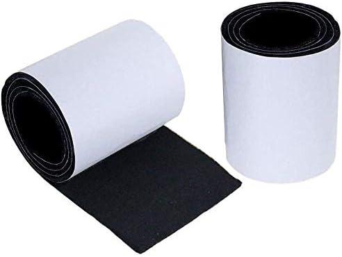 Patins en feutre auto-adh/ésifs Noir 20 mm
