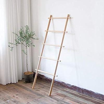 Lzpff Armario Forma D Escalera Soporte de exhibición Soporte en Forma de D Árbol Armario for la Ropa Bufandas y Sombreros Pasillo Dormitorio Armarios Colores Naturales (Color: 4 Pasos): Amazon.es: Hogar