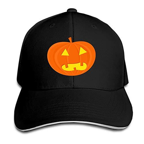 Cowboys Ghost Halloween - Men & Women Cotton Adjustable Cowboy Hat - Halloween Vegetable Food Pumpkin Ghost