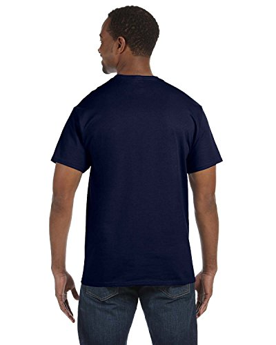 Pour Hanes T Navy Ecosmart Rond Deep Col Comfortblend Homme shirt qBBrYw