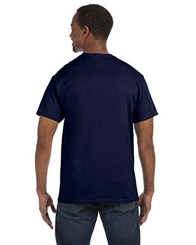 Hanes Col Homme Comfortblend Ecosmart shirt Navy Deep Rond Pour T qrrwO